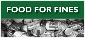 Food for Fines Returns on November 1st