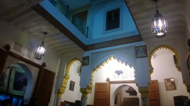 inside spanish house