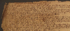 Penn Libraries acquire annotated English Bible that belonged to Francis Daniel Pastorius (1651-1720)
