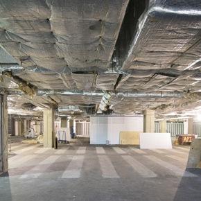 Construction Project: Van Pelt-Dietrich FifthFloor