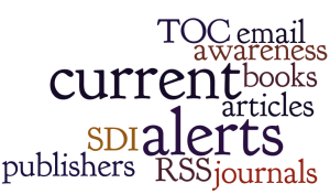 Word cloud for Alerting services