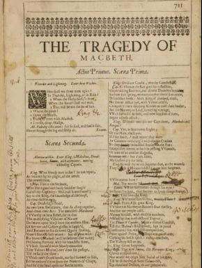 Shakespeare in Performance: Prompt Books from the Folger Shakespeare Library