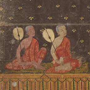 Penn Libraries' 2015-2016 Schoenberg Institute Graduate Fellow Explores  Thai Manuscript Culture in NewExhibit