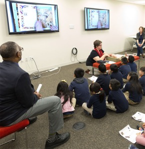 Southwark Elementary Students Visit Kislak Center