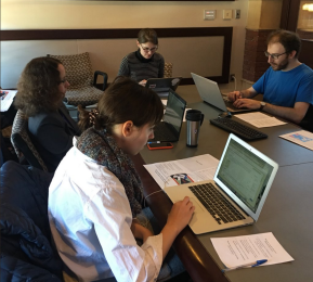 Fisher Fine Arts Library Hosts its First Art+Feminism Wikipedia Edit-a-Thon