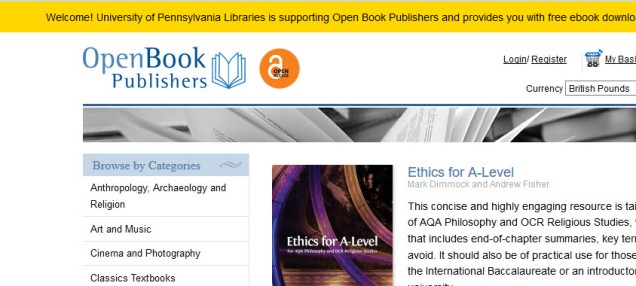 Current Open Access Collections Initiatives at the Penn