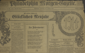 Digitization of Historic German-American Newspapers Collection is NowComplete