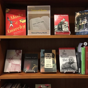 Penn Libraries Celebrates National Poetry Month with Book Display in Van Pelt-Dietrich Library Center