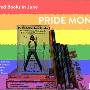 Featured Books Display: Pride Month